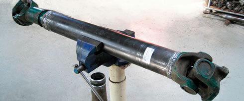 Ремонт карданного вала видео